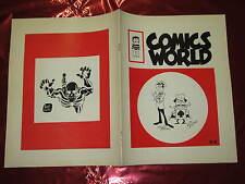FANZINE DI FUMETTI COMICS WORLD N°3/4 MAR-GIU 1971 ANNO V° CON BOTTARO