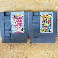 Track & Field 1 & 2 Game Lot (Nintendo Entertainment System)Nes Tested Authentic