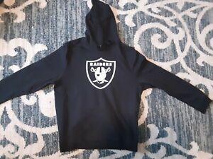Oakland Raider #52 Mack NFL Fanatics Men`s Black Pullover Drawstring Hoodie