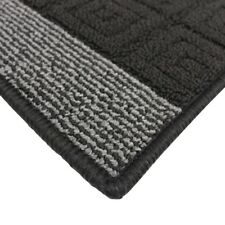 JVL Palmero Machine Washable Latex Backed Striped Door Mat or Runner