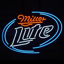 "New Miller Lite Beer Bar Cub Party Light Lamp Decor Neon Sign 17""x14"""