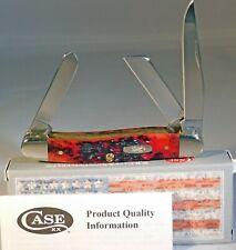Case XX Crimson Peach Seed Jigged Medium Stockman Knife/Knives NEW