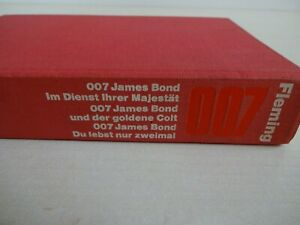 Ian Fleming - James Bond 007 - 3 Romane