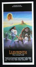 LABYRINTH 1986 Original Australian daybill movie poster David Bowie Jim Henson