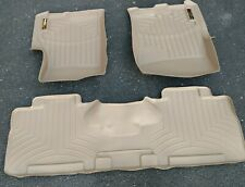 WeatherTech Floor Liner Mat 453531 & 451072 Ford Expedition - Lincoln Navigator
