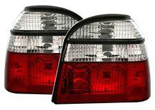 2 FEUX ARRIERE TYPE M3 POUR VW GOLF 3 TOUT MODELES + 2 AMPOULES CLIGNOTANTS