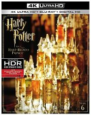 HARRY POTTER HALF BLOOD PRINCE  (4K ULTRA HD) - Blu Ray - Region free