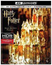 HARRY POTTER HALF BLOOD PRINCE  (4K ULTRA HD) - Blu Ray - Region free