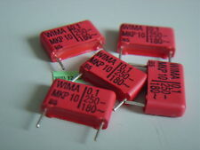 14 pcs 0,1uF 100nF 250V- 5% WIMA MKP10 RM15 Polypropylen Kondensator NEU