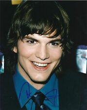 Ashton Kutcher signed 8x10 color photo