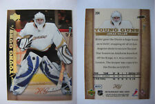 2007-08 UD Upper Deck #204 Jonas Hiller 08/10 HG RC rookie HOT SWISS