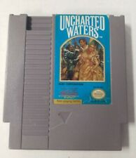 Uncharted Waters (NES,1991) Authentic,Clean & Tested Nice Condition !!