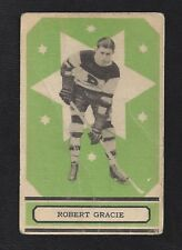 1933 OPC V304B #66 Robert Gracie, Vintage Boston Bruins NHL Hockey 1933-34