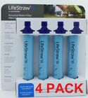 LifeStraw Personal Water Filter 4 PACK for Hiking Camping Travel Emergency ✅✅✅✅✅