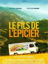 Affiche 120x160cm LE FILS DE L'ÉPICIER 2007 Nicolas Cazalé, Clotilde Hesme TBE