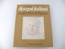 I GRANDI DISEGNI ITALIANI DEGLI UFFIZI DI FIRENZE - LIBRO - RAS 1972 - BUONO -L8
