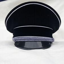 WWII Ww2 German Military Elite Officer Visor Cap Hat Size L