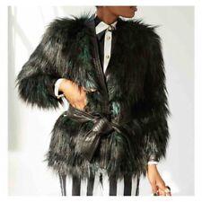 Balmain x H&M Fur Jacket Size 10 USA