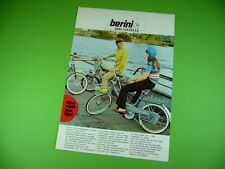 406KA2 Moped - Prospekt, brochure: berini VAN GAZELLE (RIJWIELFABRIEK - DIEREN)