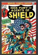 Nick Fury and his Agents of Shield #2 Marvel Comics 1972 VF/NM Steranko Cover