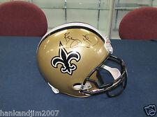 Reggie Bush Autographed Full Size New Orleans Saints Replica Helmet Bush COA