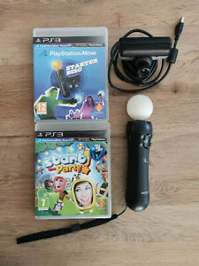 PS 3 Move Starter Pack + Start the Party