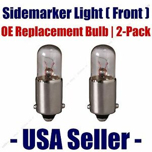 Sidemarker (Front) Light Bulb 2pk - Fits Listed DeLorean Vehicles - 3893