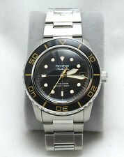 "Seiko 5 SNZH57 ""BP"" Fifty Five Fathoms Homage Mod diver Brand New 3 STRAPS"