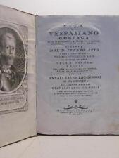 AFFO' Ireneo, DE ROSSI Giambernardo, Vita di Vespasiano Gonzaga duca