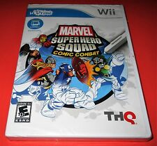 Marvel Super Hero Squad: Comic Combat uDraw Tablet Nintendo Wii New! Free Ship!