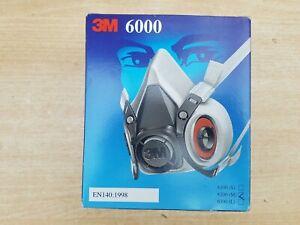 Medium 6000 series 6200 half mask no filters