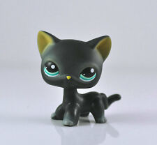 Black Cat Blue Eyes Littlest Pet Shop LPS Animals #994 Boy Girl Toys