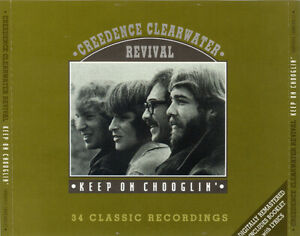 Creedence Clearwater Revival – Keep On Chooglin'  2 CD FATBOX.