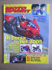 MOTOSPRINT n°37  2004 [Q79]   Test DUCATI 999 HONDA CBR 600 RR APRILIA PEGASO 65