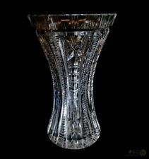 Vintage Beaded and Fluted Hexagon Rimmed Flared Vase | FREE Delivery UK*