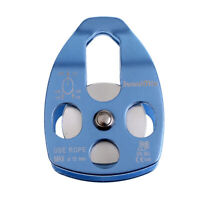 Safety 32KN Rock Climbing Single Pulley Rigging Rescue Hauling Rope Access