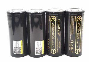 10-Pcs LiitoKala lii-50A 26650 5000mah lithium battery