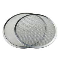 2x teglia per pizza con griglia tonda antiaderente Bakeware Cook Pizza Net