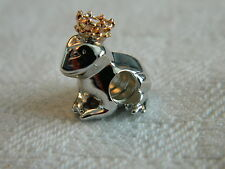 Clogau Sterling Silver & Welsh Gold Frog Prince Bead Charm RRP £99.00