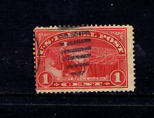 Fancy Cancel 1 Cent US Back of Book Stamps