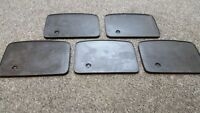5 X BATTERY TRAY RUBBER NORTON MATCHLESS BSA AJS TRIUMPH OLD MODELS *WHOLESALE*