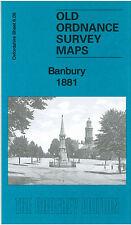 OLD ORDNANCE SURVEY MAP BANBURY 1881