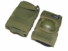 Original Russian Military SPOSN GUARD Elbow Pads in OLIVE, Brand New!
