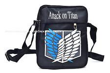 Attack on Titan Survey Corps canvas messenger shoulder Bag(ATSB1)