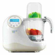Cherub Baby Steamer Blender Baby Food Preparation Unit - White