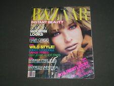 1986 OCTOBER HARPER'S BAZAAR MAGAZINE - JEANETTE HALLEN COVER - SP 4513