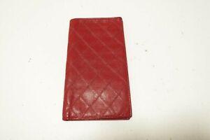 Authentic CHANEL Leather Bicolore CC Long Wallet  #10284