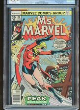 MS. MARVEL #14 CGC GRADED 9.4 WHITE PAGES 1978 DRACULA CAMEO #1245935005