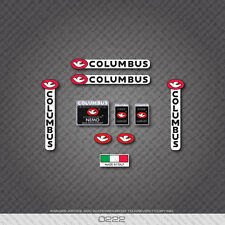 0222 Columbus NEMO Bicycle Frame and Fork Stickers - Decals