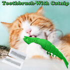 Cat Catnip Toys Interactive Cat Toothbrush Chew Toy With 2xCatnip Dental Care YJ
